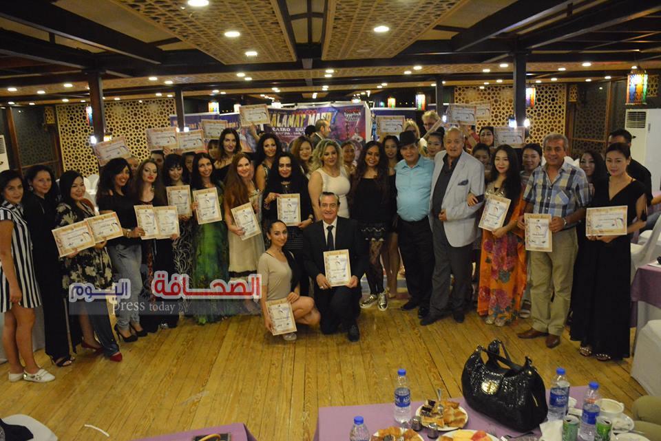 بالصور .. 30 دولة تشارك فى مهرجان الرقص المصرى