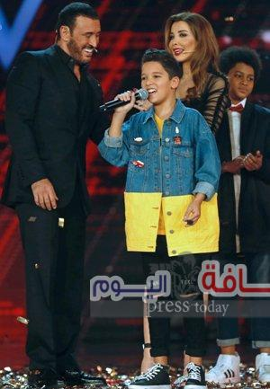 فوز الطفل المغربي حمزة في The Voice Kids