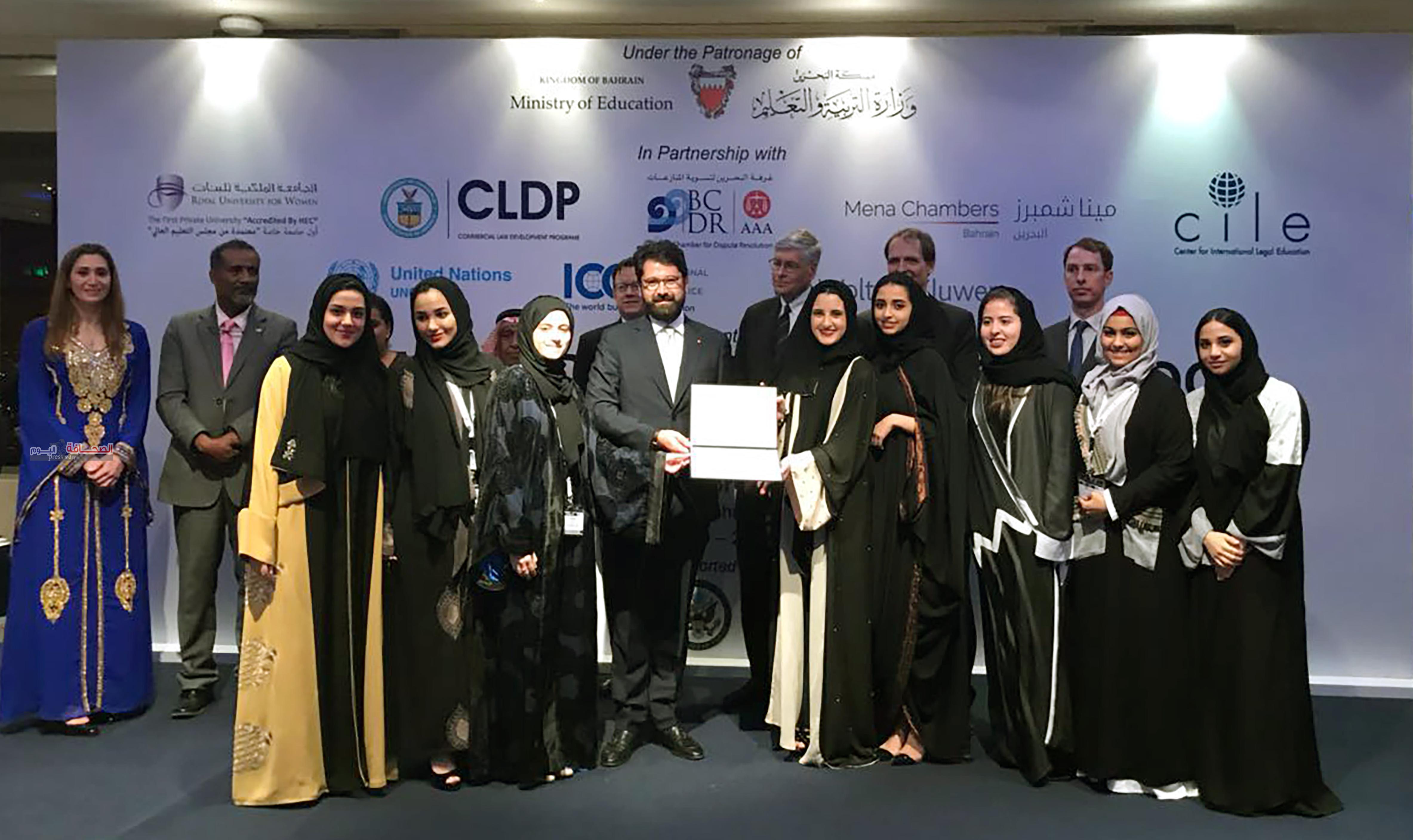 جامعة دار الحكمة تفوز بمسابقة (وليم فيس) التحضيرية في التحكيم التجاري الدولي لدول الشرق الأوسط