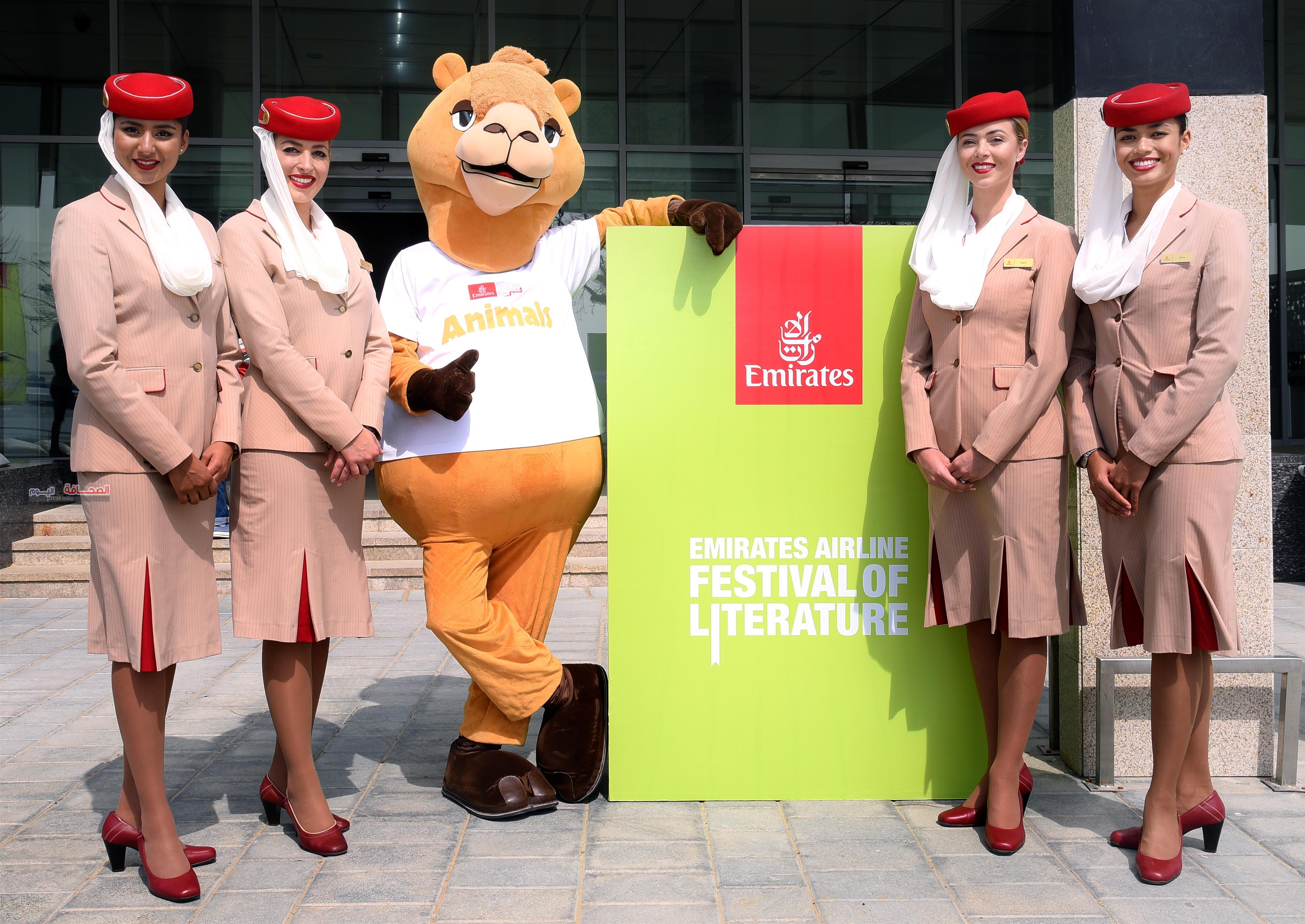 طيران الإمارات تحتفل بمرور 10 سنوات على رعاية مهرجان الآداب
