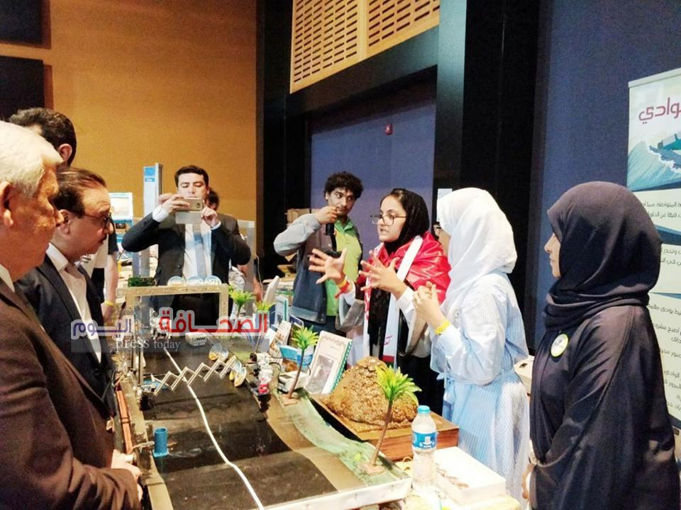 طلاب مدرسة المروة يحصدون المركز الأول فى البطولة العربيه للربوت