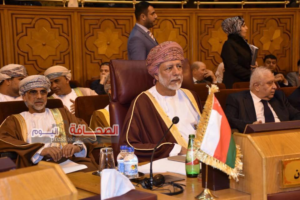 بن علوى يترأس وفد السلطنة فى الدورة 149 بجامعة الدول العربية