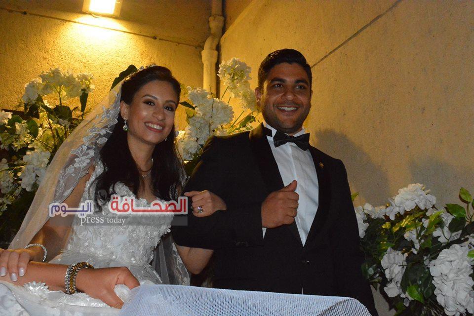 بالصور .. نجوم المجتمع فى حفل زفاف أمين واصف ومادونا نسيم