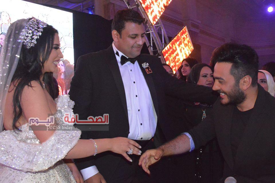 بالصور .. زفاف رهف الشاعر وإيهاب الجابرى