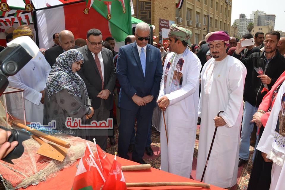 فعاليات ثقافية عمانية بجامعات القاهرة والقليوبية و الإسكندرية