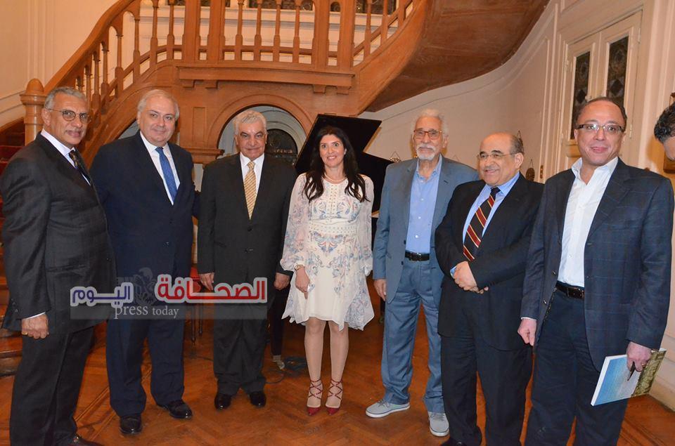 حفل توقيع كتاب الوجود المصرى واليونانى فى عمارة إيران