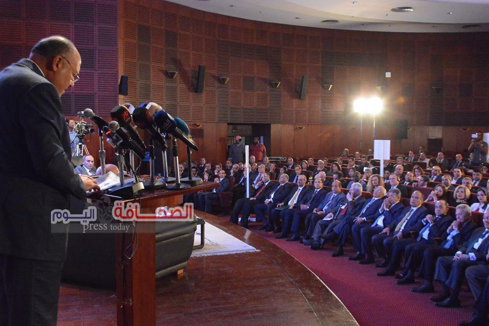 بالصور .. إحتفالية مؤسسةالأهرام بمرور عامين لعضوية مصر بمجلس الأمن