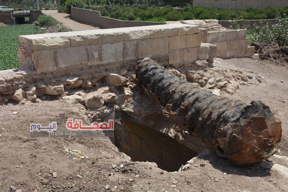 تعرف على: أسباب إنهيار سقف كوبرى أثرى أنشأه محمد على باشا