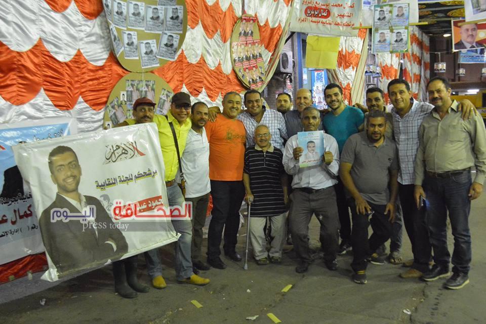 بالصور.. 4 صحفيين و82 إدارى يخوضون الإنتخابات النقابية بالأهرام