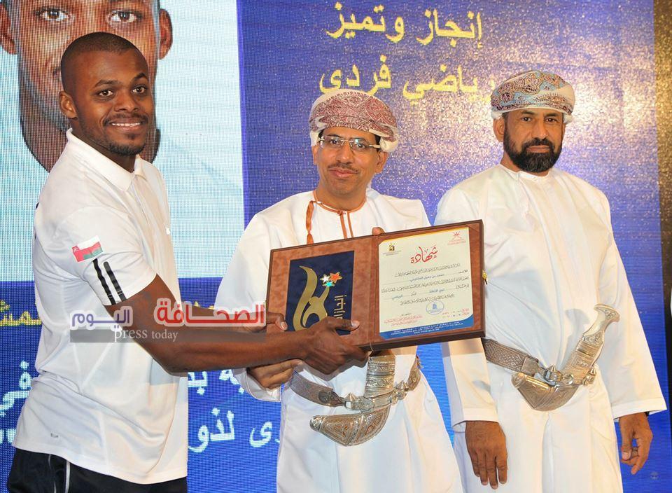 تتويج الفائزين بمسابقة جائزة الإنجاز والتميز الشبابي بسلطنة عمان