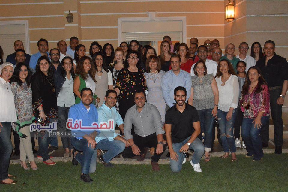 بالصور .. وزيرة الهجرة فى حفل إفطار د. لميس على نجم