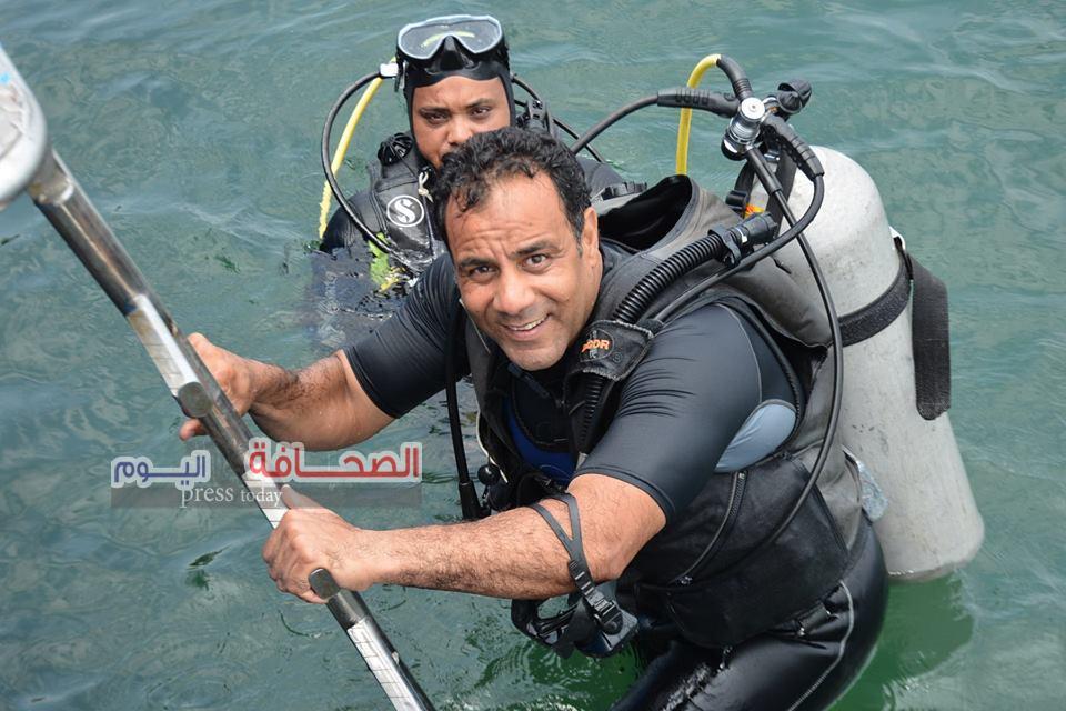 """""""إسلام سليم """"مديرآ لإدارة الأثار الغارقة بالبحر الأحمر"""