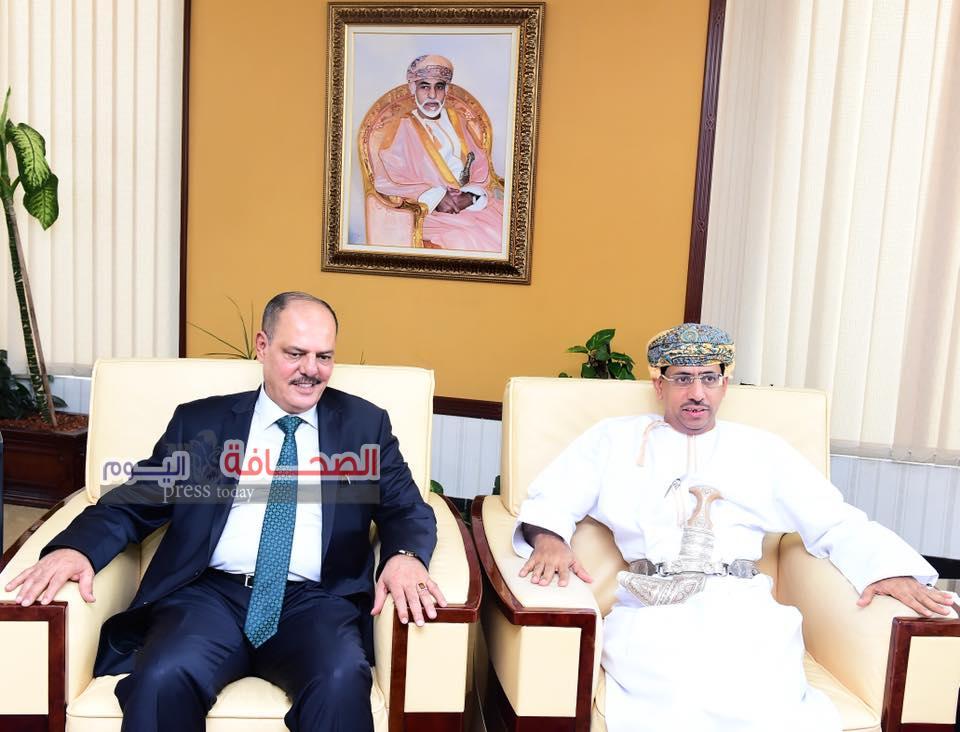 د. عبد المنعم الحسنى يستقبل رئيس إتحاد الصحفيين العرب