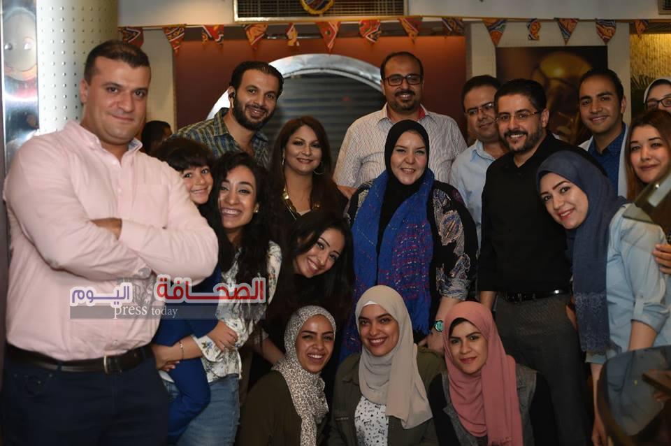 خبراء التجميل فى حفل إفطار د. وائل غانم