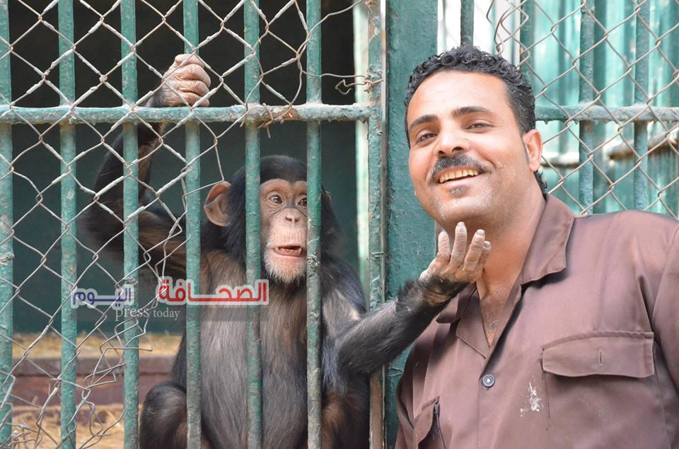 بالصور .. 35 ألف زائر أول أيام العيد زاروا حديقة الحيوان