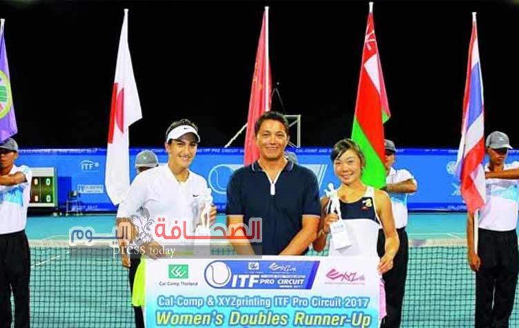 """بطلة التنس العمانية الدولية """"فاطمة النبهانية"""" تشارك في البطولة العالمية بالبرتغال"""