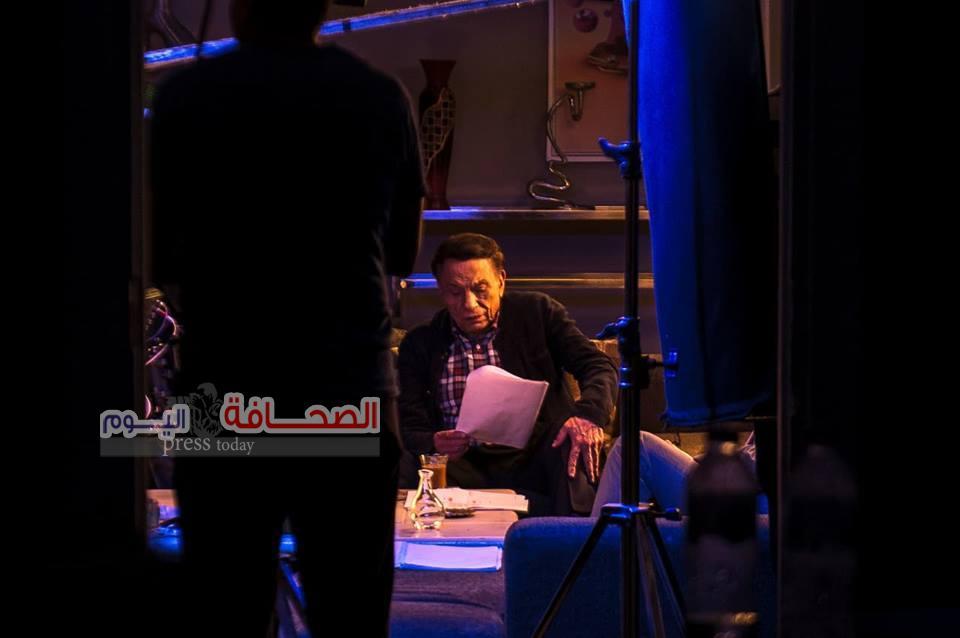 الزعيم عادل إمام  ينتهى من تصوير مسلسل عوالم خفية