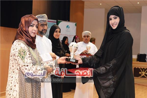 السلطنة تفوز بجائزةالمرأة العربية 2018