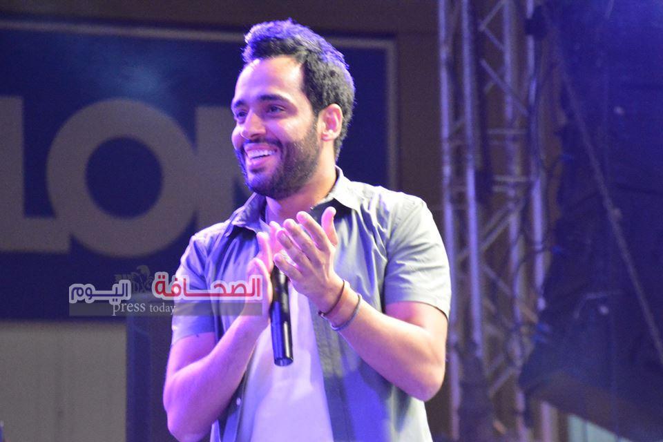 "بالصور .. 2000 شاب فى حفل ""رامى جمال ""بمو ذا ديستريكت"