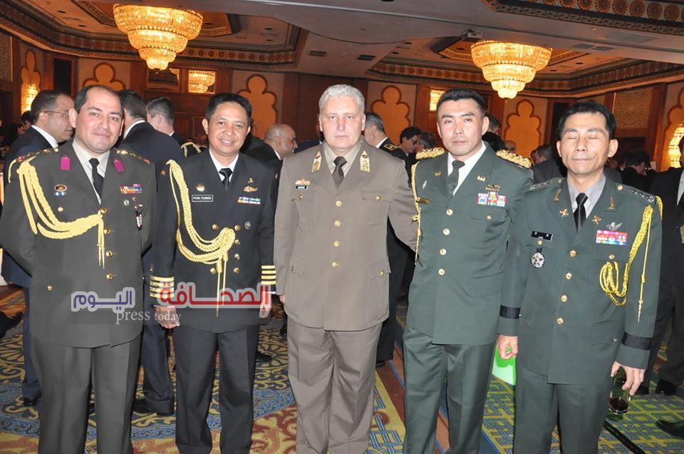 بالصور .. سفراء الدول العربية والاوربية فى الإحتفال بعيد الجيش الايطالى