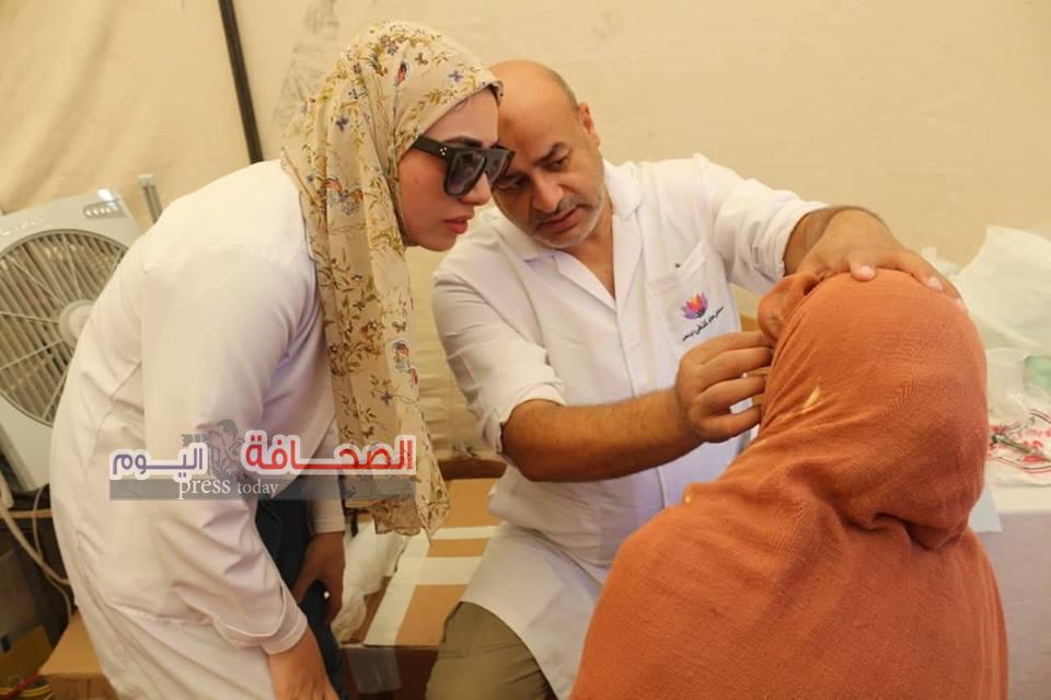 أكبر مستشفى متنقل ميدانى فى مصر تجوب المحافظات لعلاج المرضى بالمجان