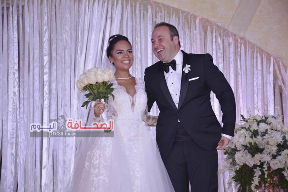 بالصور .. كبار الشخصيات فى زفاف نجل طارق عامر محافظ البنك المركزى