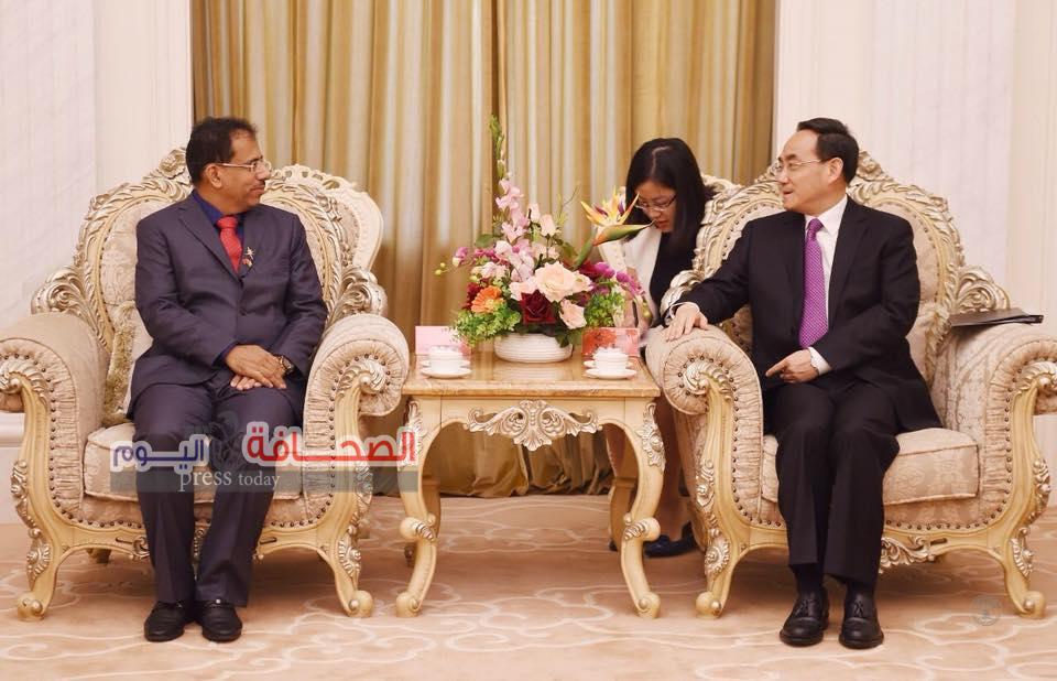 توقيع إتفاقية تعاون بين السلطنة والصين فى مجال التبادل الاعلامى