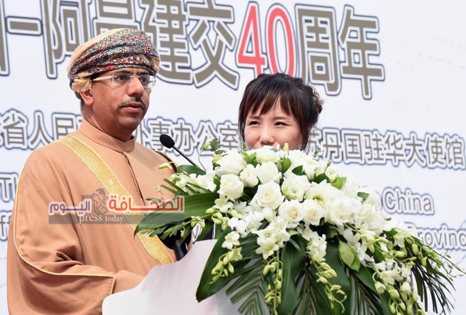 د.عبد المنعم الحسنى يشهد تدشين النصب التذكاري لـ سفينة_صحار  بمدينة جوانزو الصينية