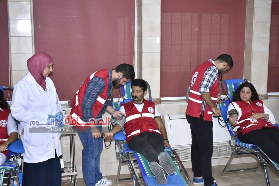 خالد النبوى :يدعو فئات المجتمع للتبرع بالدم