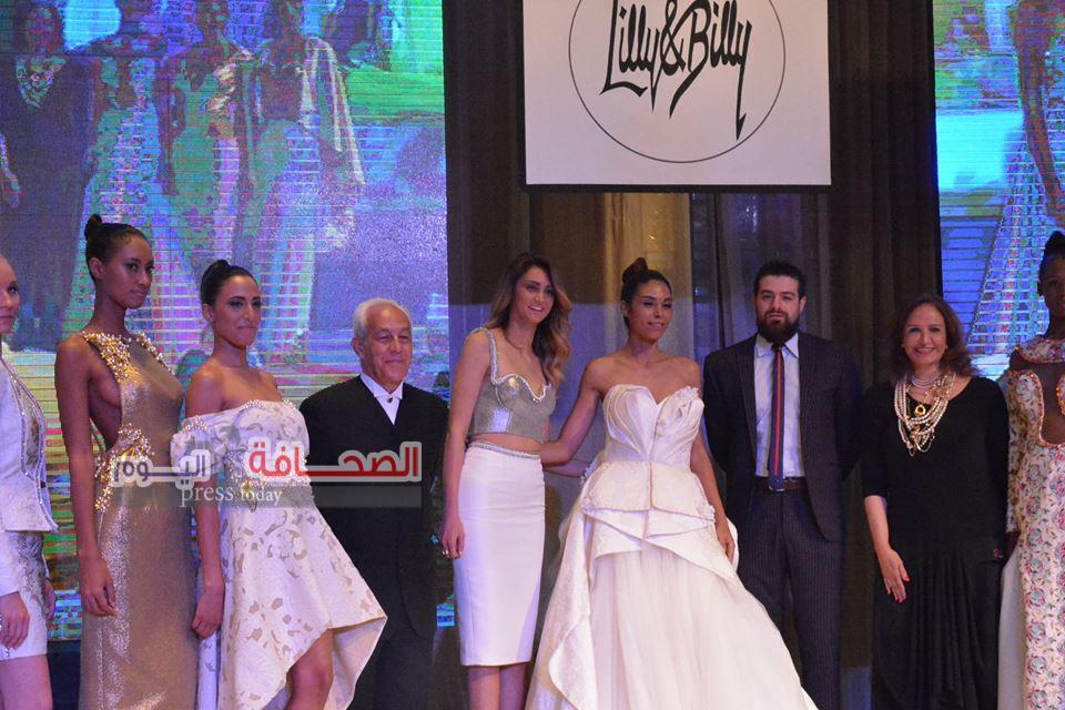 بالصور: عرض أزياء مصرى لبنانى لصالح جمعية تحسين الصحة