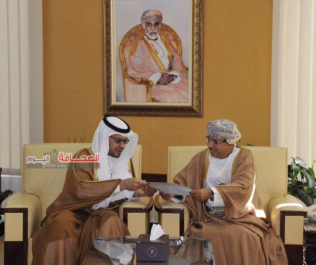 د. عبد المنعم الحسنى يتسلم دعوة لحضور حفل إختيار الرياض عاصمة للإعلام العربي