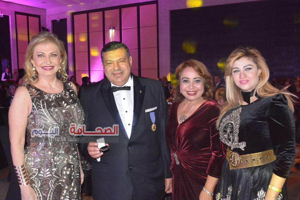 بالصور.. حفل المنطقة الليونزية السنوى لصالح مستشفى  500500 لعلاج الحروق