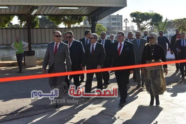 """""""إكسون موبيل مصر"""" تفتتح مستودعها بعد تجديده بمحافظة بورسعيد"""
