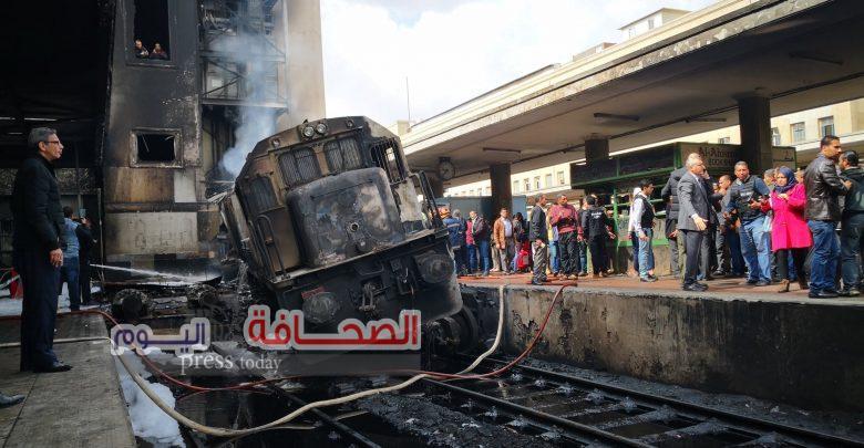 السكة الحديد:جارى ضبط سائق القطار الهارب