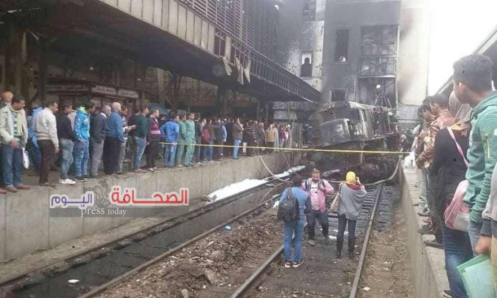 إستئناف حركة القطارات من وإلى محطة مصر