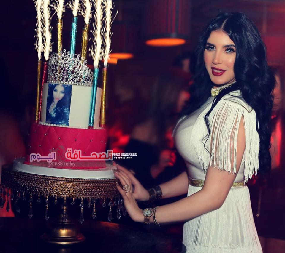 """نجوم المجتمع يشاركون """"إيمي إيهاب """"الإحتفال بعيد ميلادها"""