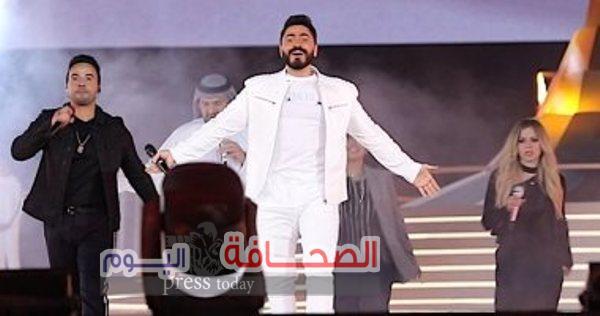 تامر حسنى يمثل مصر فى الأغنية الرسمية لأولمبياد 2019