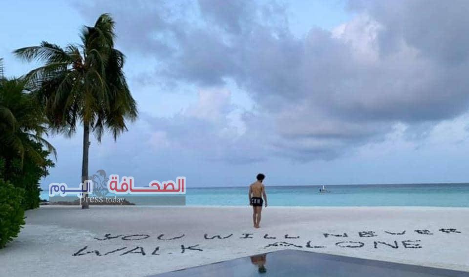 تعرف على: الرسالة الغامضة  لمحمد صلاح ..  من جزر المالديف