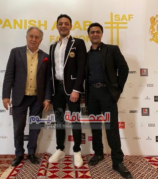 الفنان محمد علي يشاركفى مهرجان Spanish arab fashion