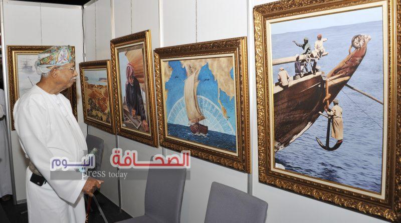بمشاركة مصرية… انطلاق فعاليات معرض عُمان الدولي للفنون التشكيلية