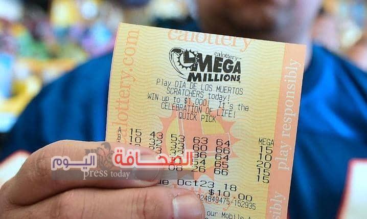 """أميركي  يفوز بثالث أكبر جائزة بتاريخ اليانصيب """"768"""" مليون دولار"""