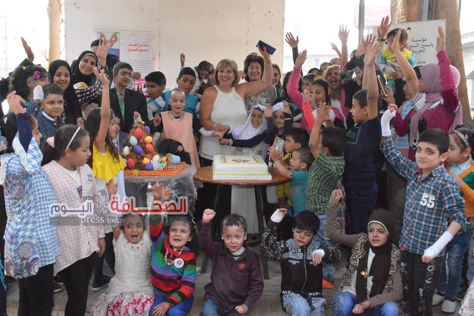 بالصور .. حفل خيرى لاطفال مؤسسة ياسمين السمرة بساقية الصاوى