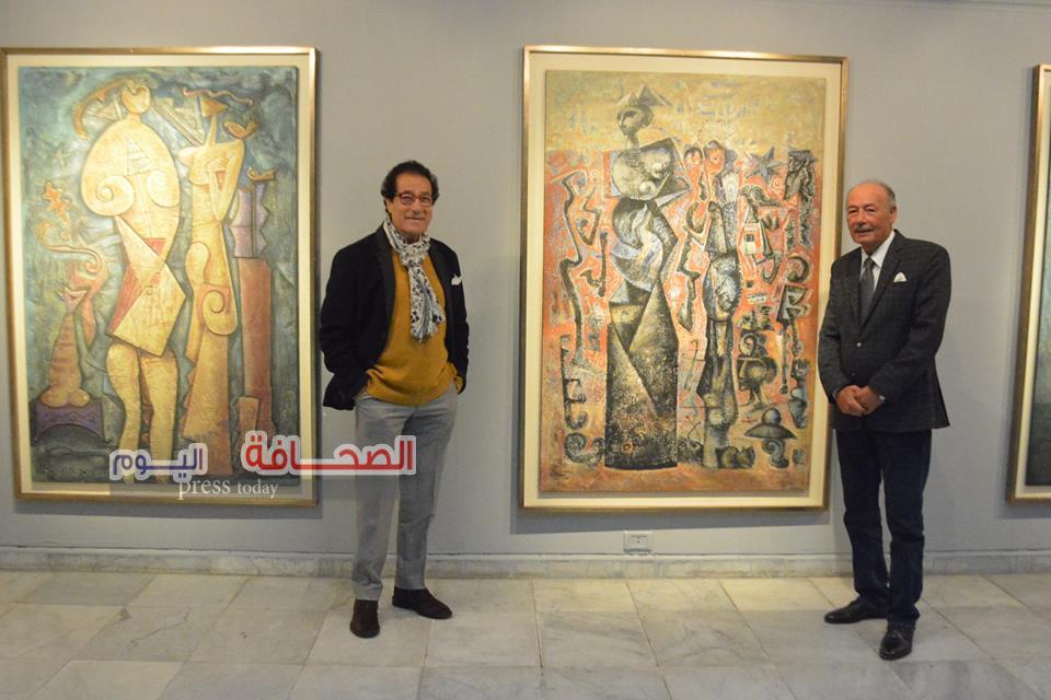 فاروق حسنى :أحمد شيحة  فنان تشكيلى من عصر الفراعنة