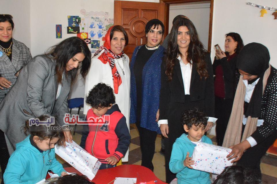 بالصور ..مدير مركز بن راشد للهم فى زيارة لجمعية لوبيلز لذوى القدرات الخاصة