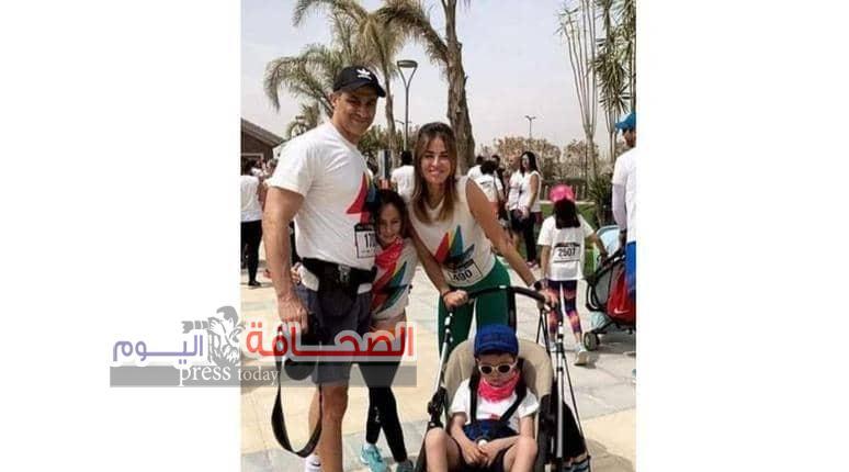 تعرف على: أصغرحفيد لحسنى مبارك