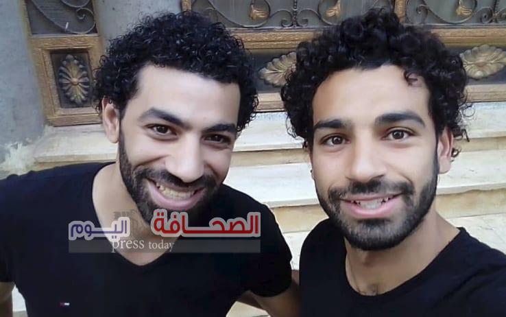 """شبيه """"محمد صلاح """"يخطف الأضواء فى بطولة أمم أفريقيا"""