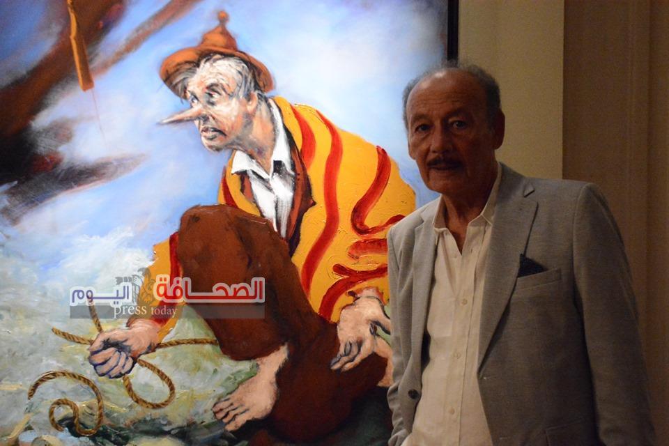 بالصور..إفتتاح بينالى القاهرة الدولى للفنون التشكيلية