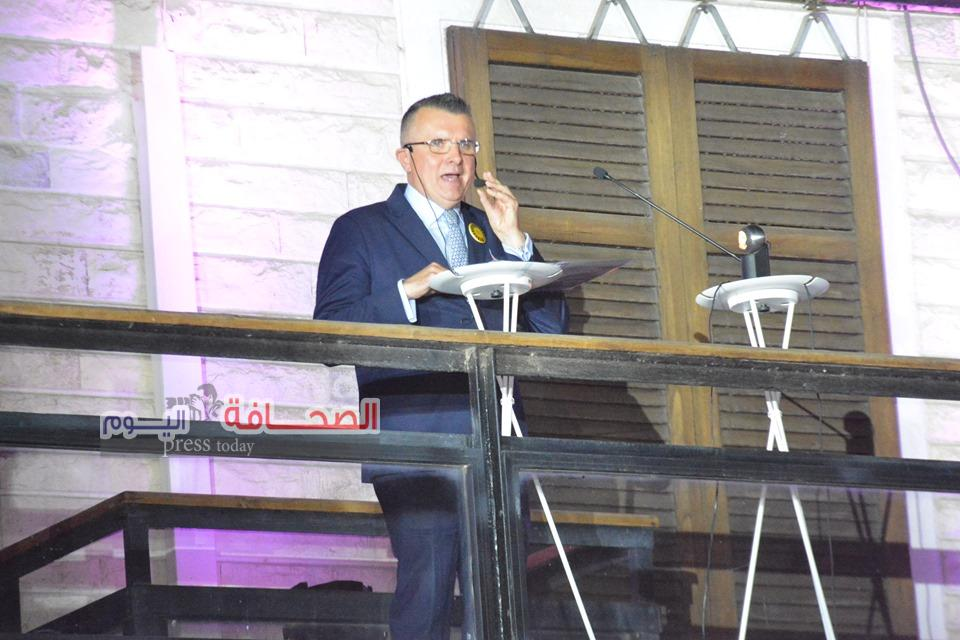 بالصور .. نجوم المجتمع خلال الاحتفال بالعيد الوطنى للسويد  على نيل الزمالك