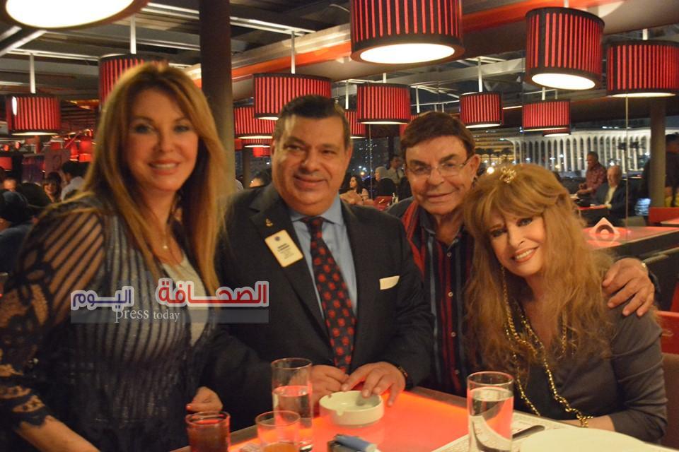 بالصور .. نجوم الفن والمجتمع فى حفل سحور د. محمود المغربى