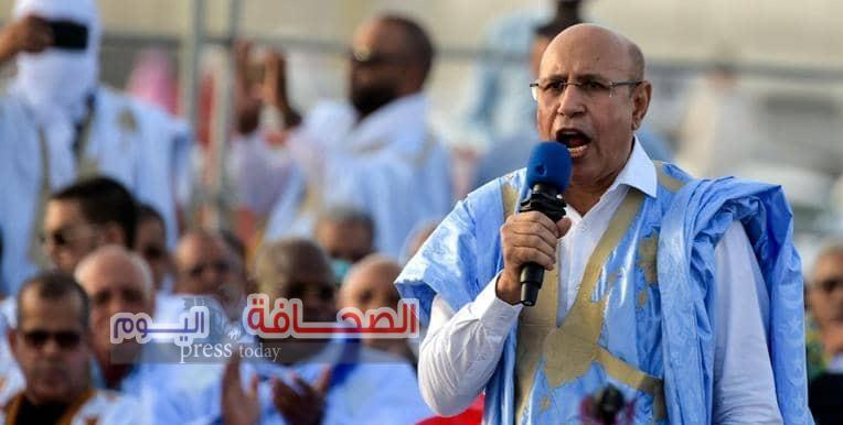 محمد ولد الشيخ الغزواني رئيسآ لموريتانيا